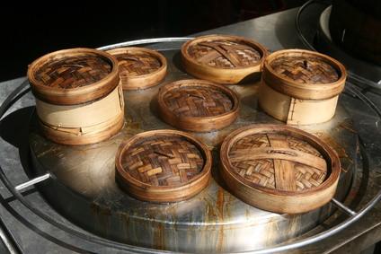 Bambus Reiskocher