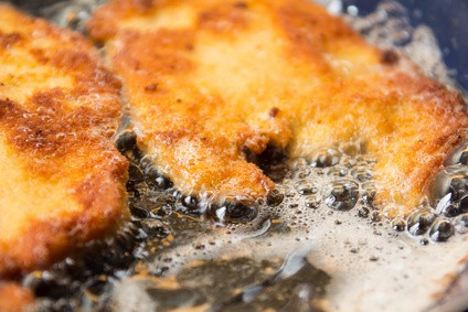 Frittiertes Schnitzel