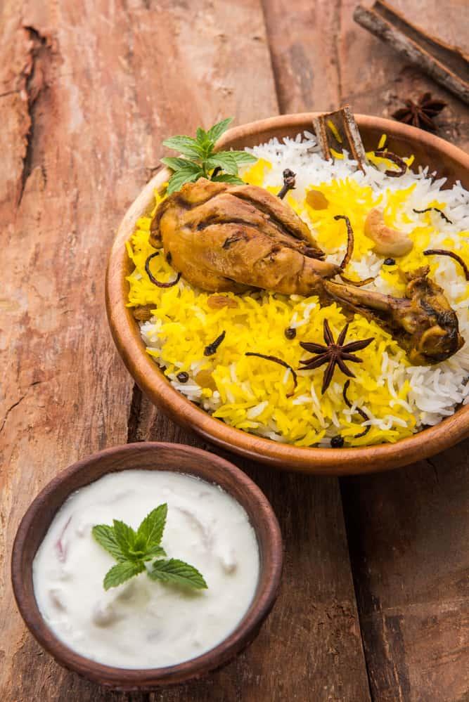 Chicken Biryani mit Reiskocher