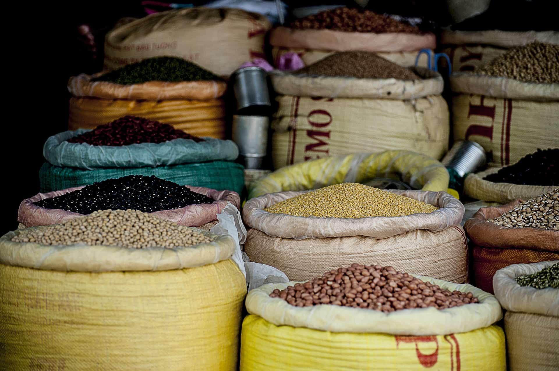 Hülsenfrüchte Reiskocher
