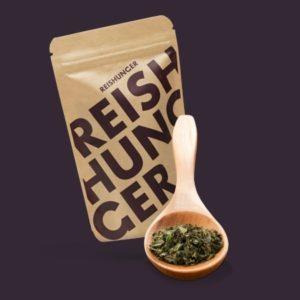 Reis Zutaten Minzblätter