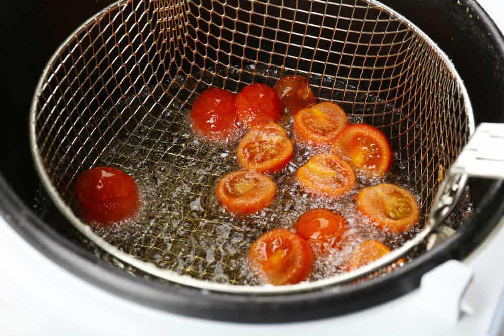 Gemüse in Heißluftfritteuse zubereiten