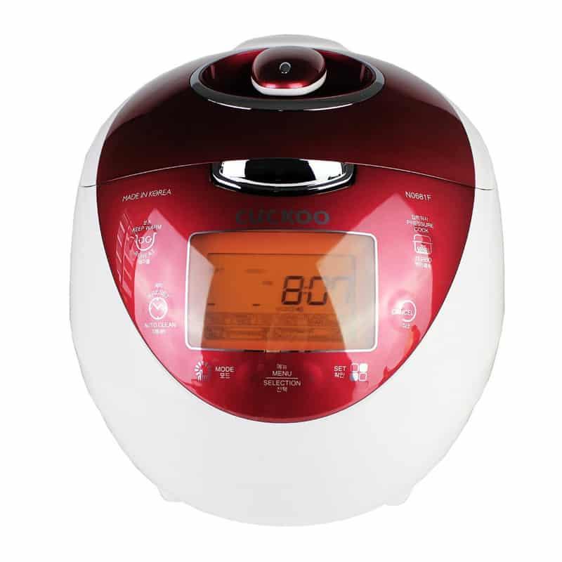Cuckoo CRP-N0681F Digitaler Dampfdruck Reiskocher