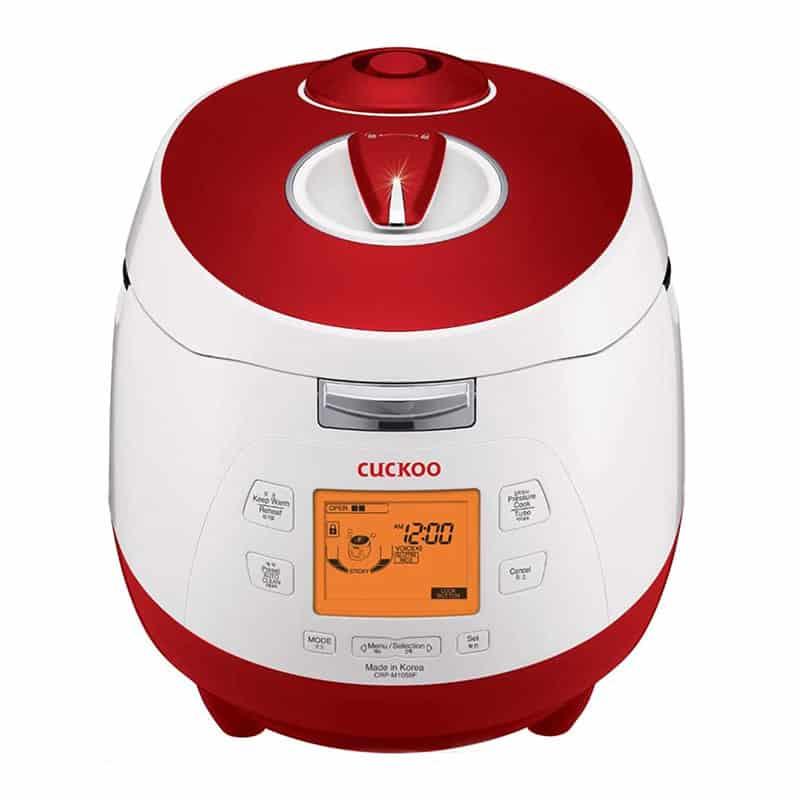 Cuckoo CRP-M1059F Digitaler Dampfdruck-Reiskocher