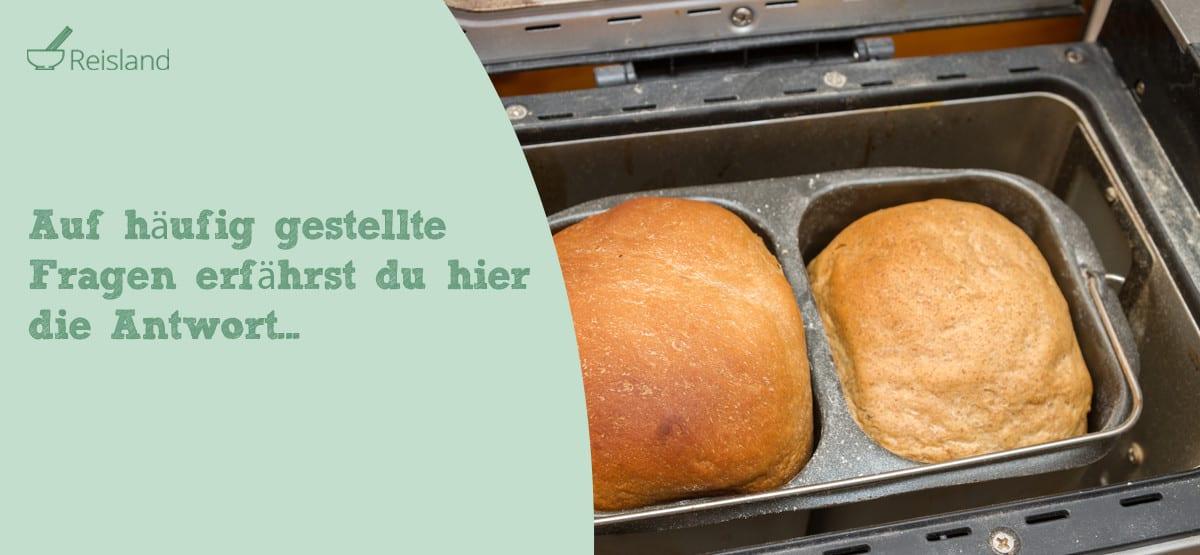 Häufig gestellte Fragen zu Brotbackautomat